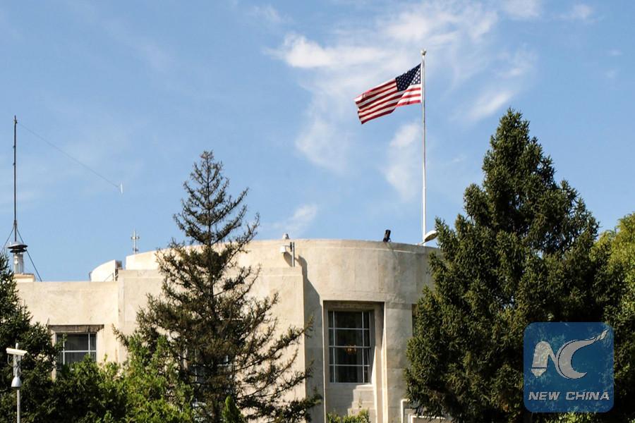 Turkey says shooting at U.S. embassy is \
