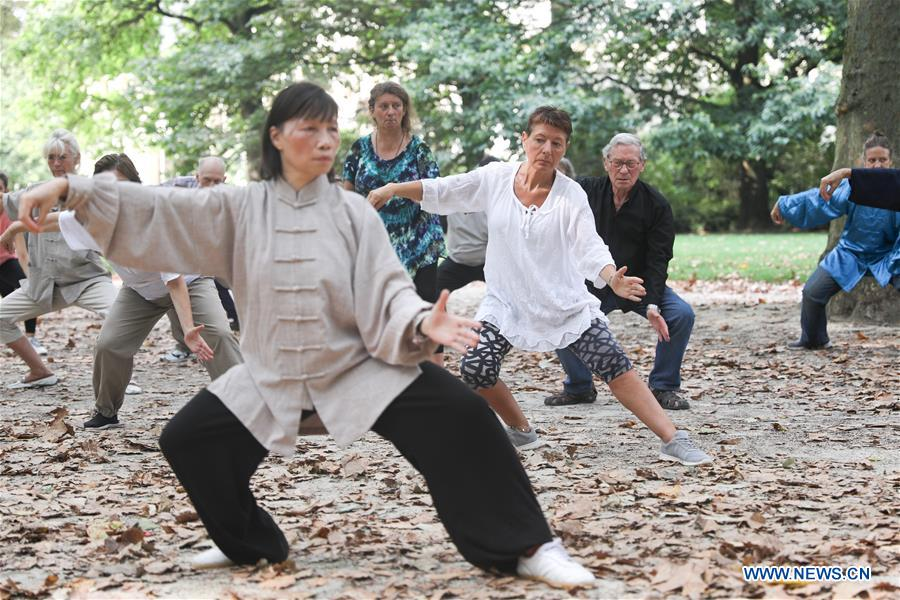 BELGIUM-BRUSSELS-CHINA-TAI CHI