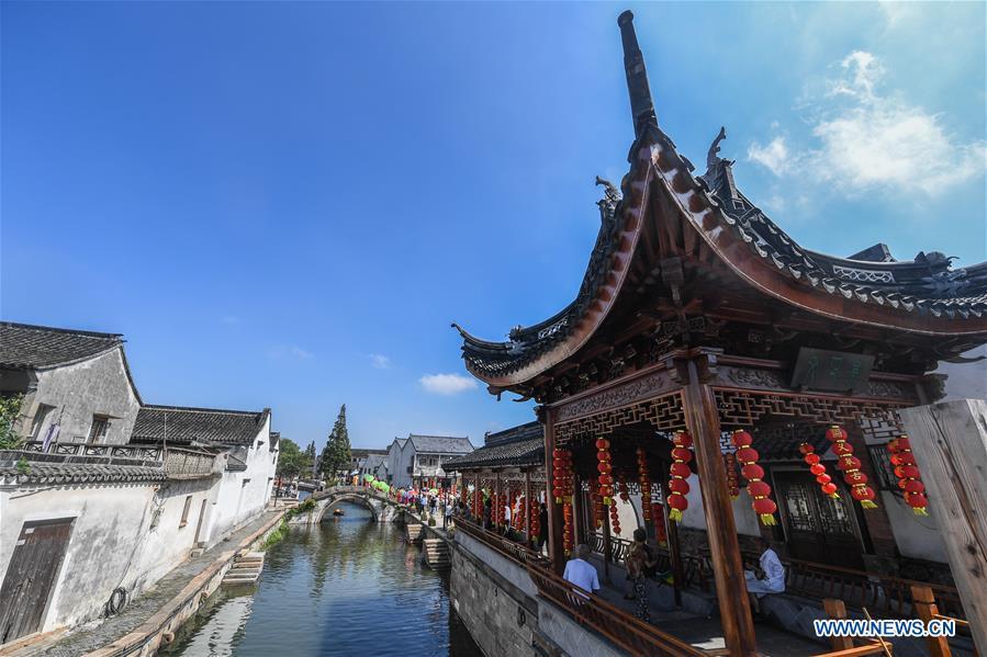 CHINA-ZHEJIANG-HUZHOU-FOLK CUSTOM-FESTIVAL (CN)