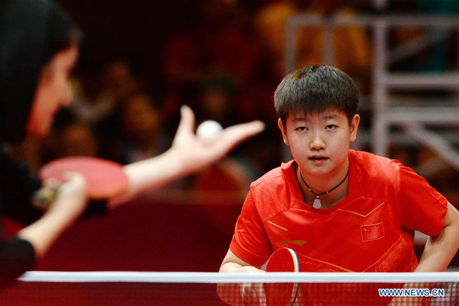 Asian game table tennis remarkable