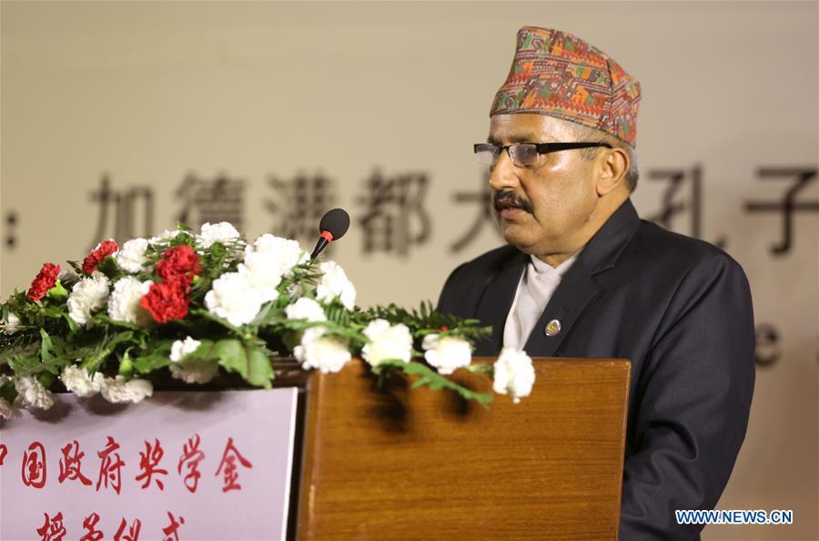 160 Nepali students to study in China under gov't scholarship