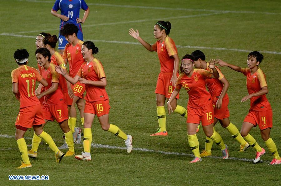 Wang scores lone goal to pace China into final of Asiad women s ... 022d65515