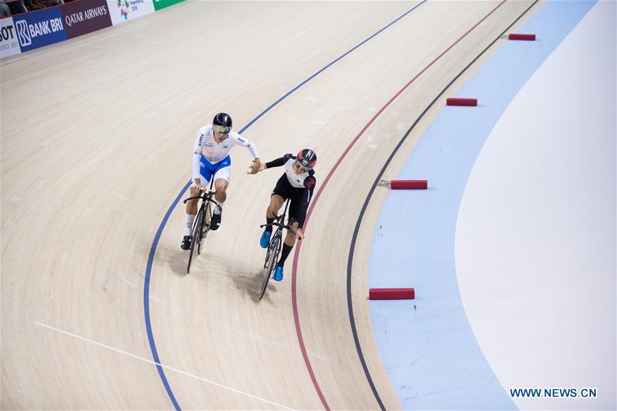 S  Korean Park wins men's track cycling individual pursuit