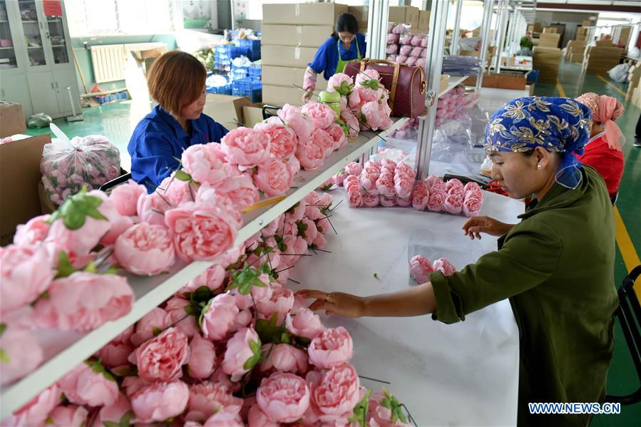 Artificial Flowers Workshop Helps Locals Get Rid Of Poverty In