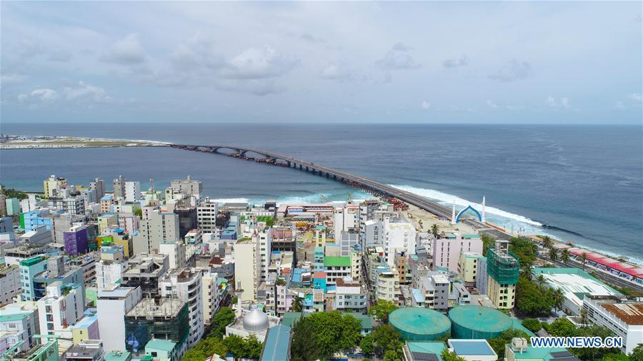 china maldives friendship bridge opens to traffic xinhua english