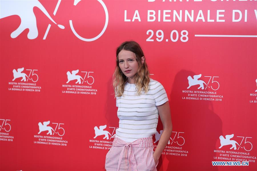 """Photocall for film """"Doubles Vies"""" held during 75th Venicel Film Festival -  Xinhua   English.news.cn"""