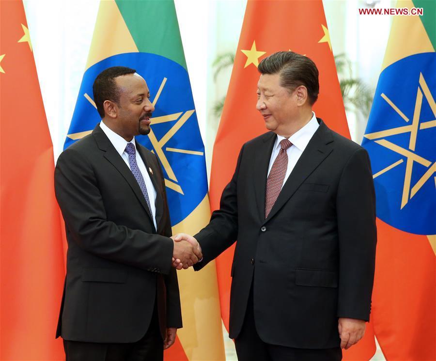 CHINA-BEIJING-XI JINPING-ETHIOPIAN PM-MEETING (CN)