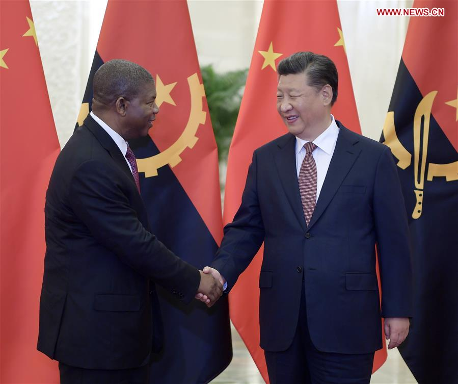 CHINA-BEIJING-XI JINPING-ANGOLAN PRESIDENT-MEETING (CN)