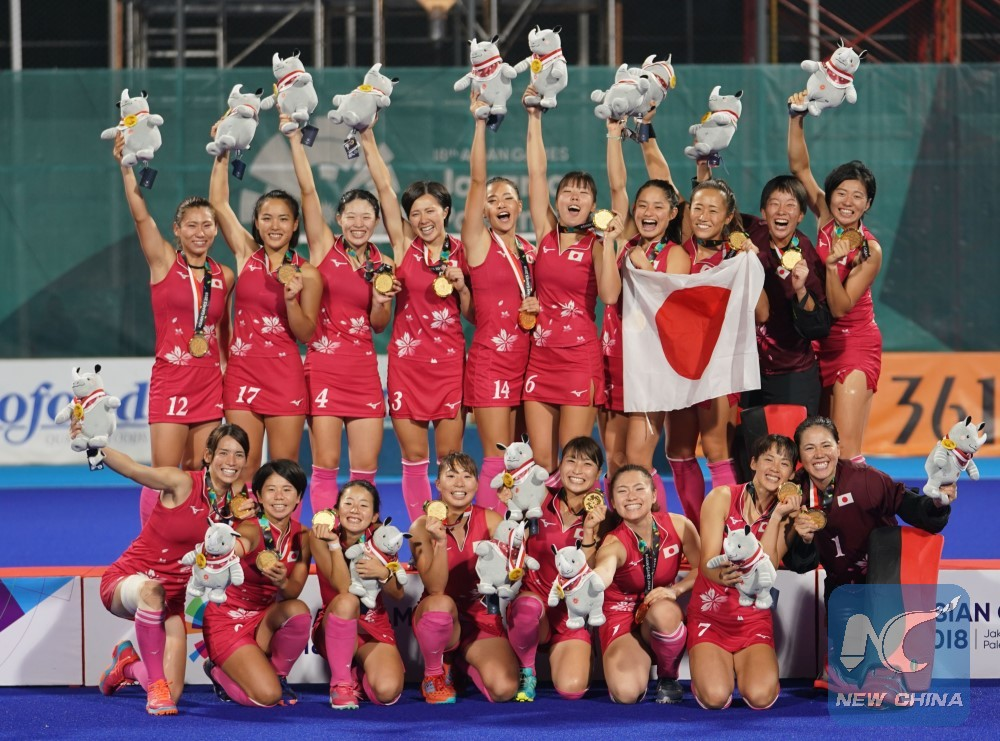 Asian Games 2020.Japan Pledges To Carry On Good Performance At Asiad To 2020