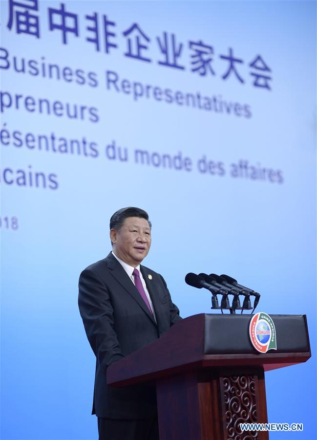 CHINA-BEIJING-XI JINPING-FOCAC-DIALOGUE-OPENING CEREMONY (CN)