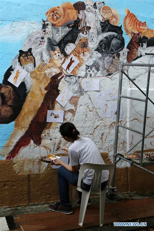 2018 Art In Island Mural Competition Held In Quezon City The