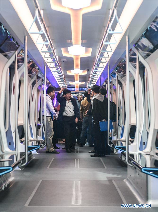 China develops carbon fiber light rail train - Xinhua | English news cn