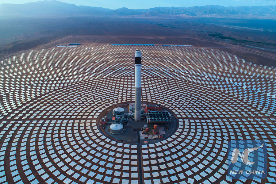 Feature Chinese Builders Help Morocco Restructure Energy