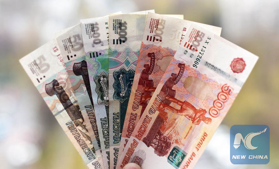russian ruble plunges on u s sanctions fears xinhua english news cn