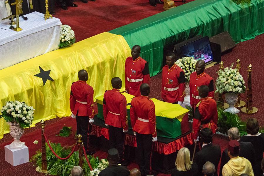 GHANA-ACCRA-KOFI ANNAN-STATE FUNERAL