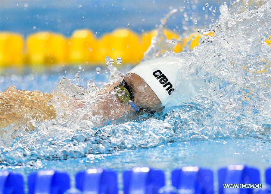 Highlights at FINA Swimming World Cup Doha 2018