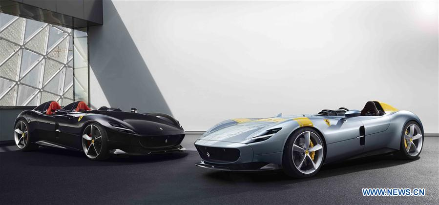Italy S Ferrari Launches New Icon Models As Part Of 5 Year Strategy Plan Xinhua English News Cn