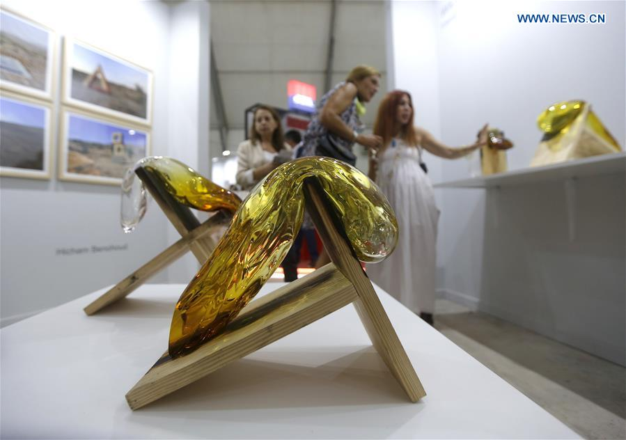 Over 1,600 artworks exhibited at Beirut Art Fair - Xinhua | English