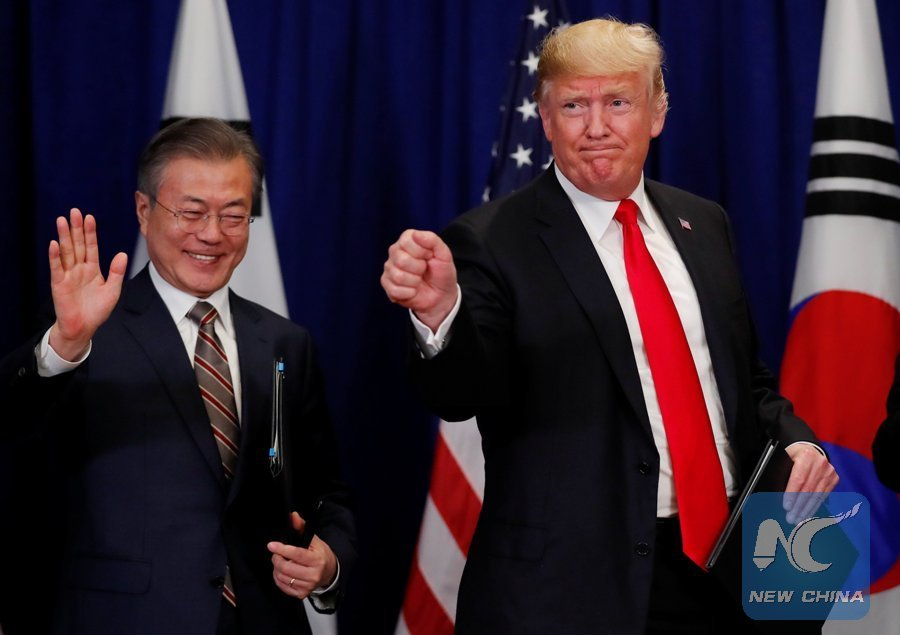 South Korean President Eyes Trump Kim Meeting Before End Of 2018