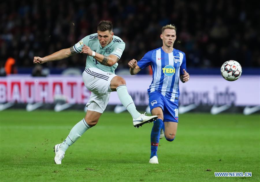 Hertha BSC beats Bayern Munich 2-0 during German Bundesliga match ... d20e59ba9