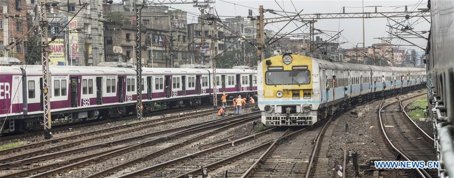 INDIA-KOLKATA-RAILWAYS