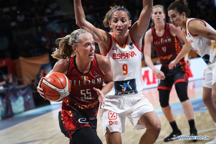 (SP)SPAIN-TENERIFE-FIBA WOMEN'S BASKETBALL WORLD CUP-SPAIN-BELGIUM