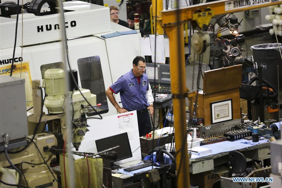 Xinhua Headlines: Innovation, not tariffs, helps U.S. machining manufacturer stay competitive
