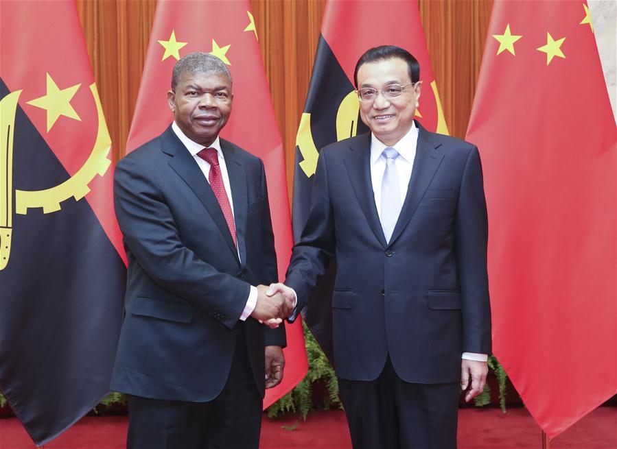 CHINA-BEIJING-LI KEQIANG-ANGOLA-PRESIDENT-MEETING (CN)