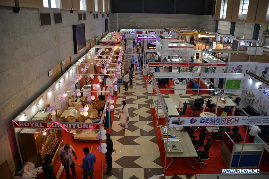 3rd Interior Exterior International Expo 2018 Held In Dhaka Xinhua
