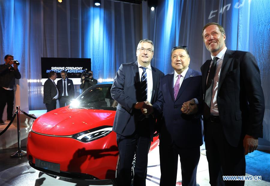 Chinese Electric Car Manufacturer Clinches Cooperation Deal With