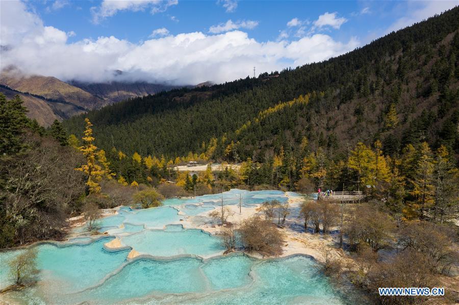 CHINA-SICHUAN-HUANGLONG SCENERY (CN)