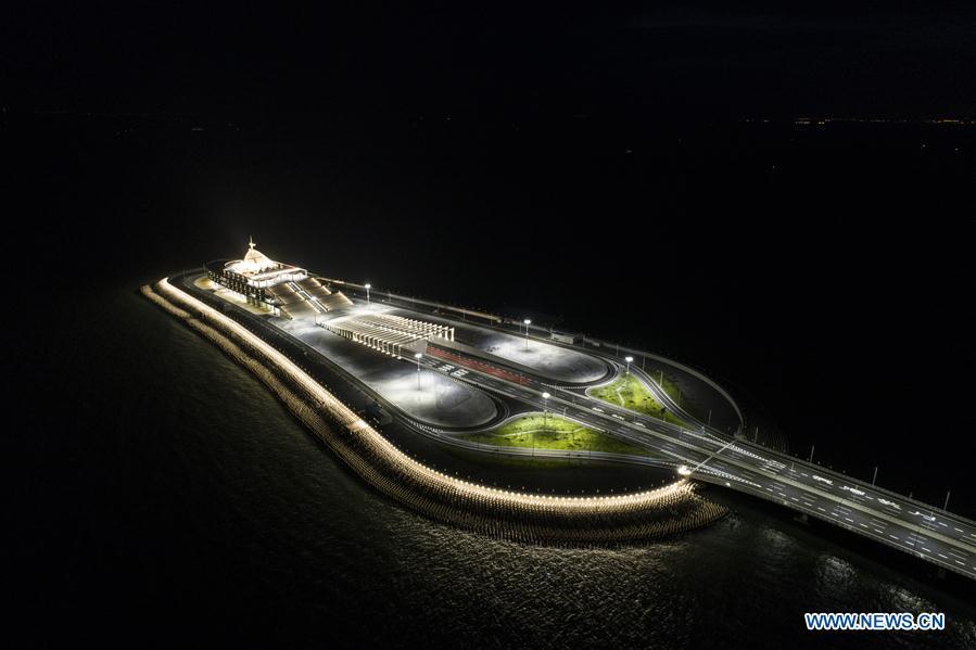 CHINA-HONG KONG-ZHUHAI-MACAO BRIDGE-AERIAL VIEW (CN)