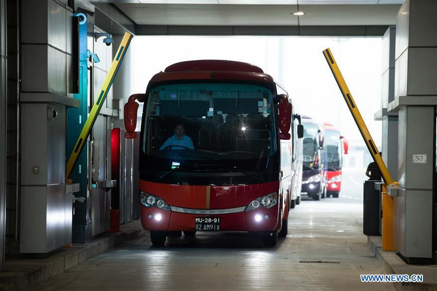 CHINA-HONG KONG-ZHUHAI-MACAO BRIDGE-OPEN TO TRAFFIC (CN)