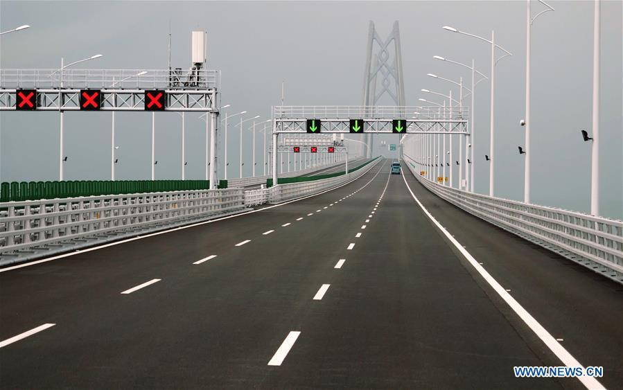 CHINA-HONG KONG-ZHUHAI-MACAO BRIDGE-PUBLIC TRAFFIC (CN)