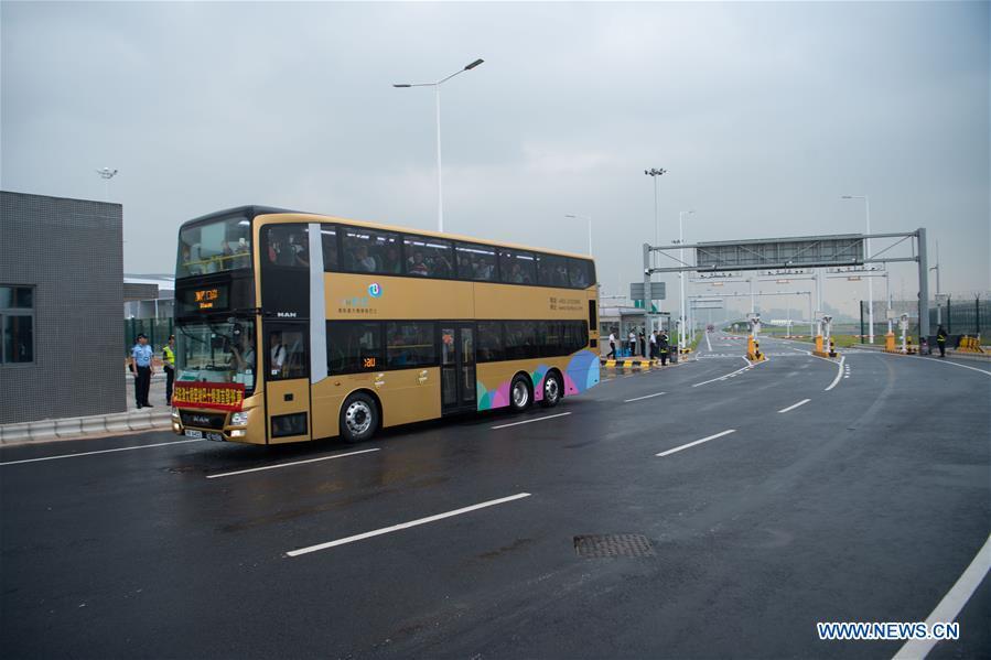 CHINA-HONG KONG-ZHUHAI-MACAO BRIDGE-PUBLIC TRAFFIC-OPEN (CN)