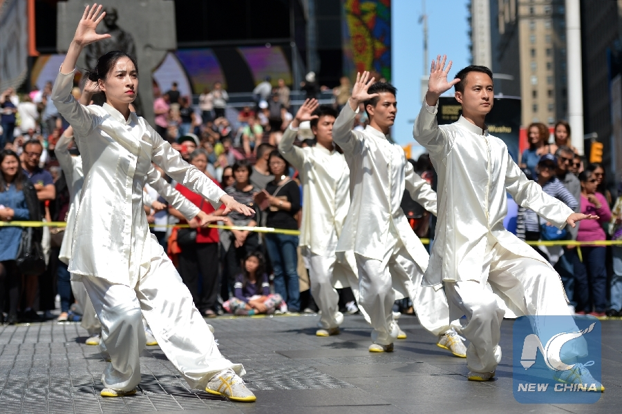 Tai Chi attracts increasing number of fans in U.S.