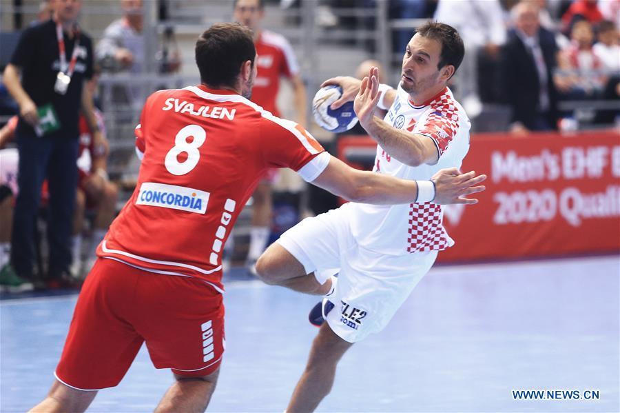 Croatia Beats Switzerland 31 28 During 2020 Men S Ehf Euro