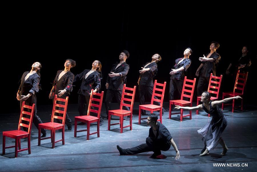 CHINA-WUHAN-MODERN DANCE(CN)