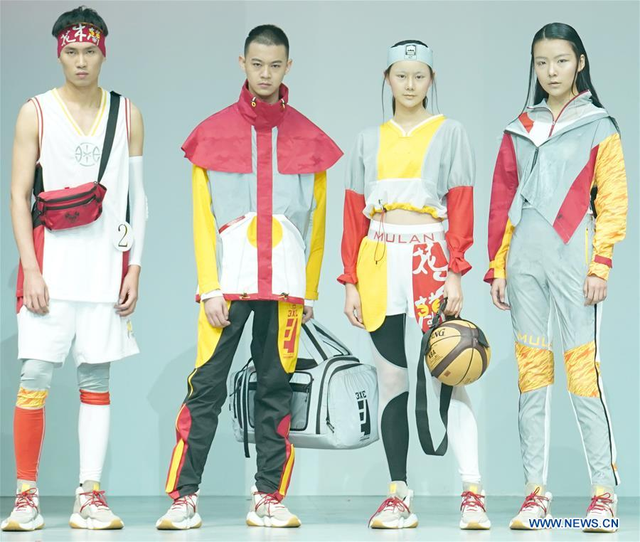 In Pics Qiaodan Cup 13th China Sports Wear Design Contest Xinhua English News Cn