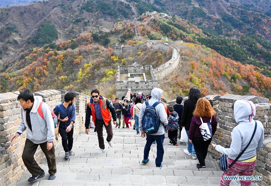 CHINA-BEIJING-MUTIANYU GREAT WALL (CN)