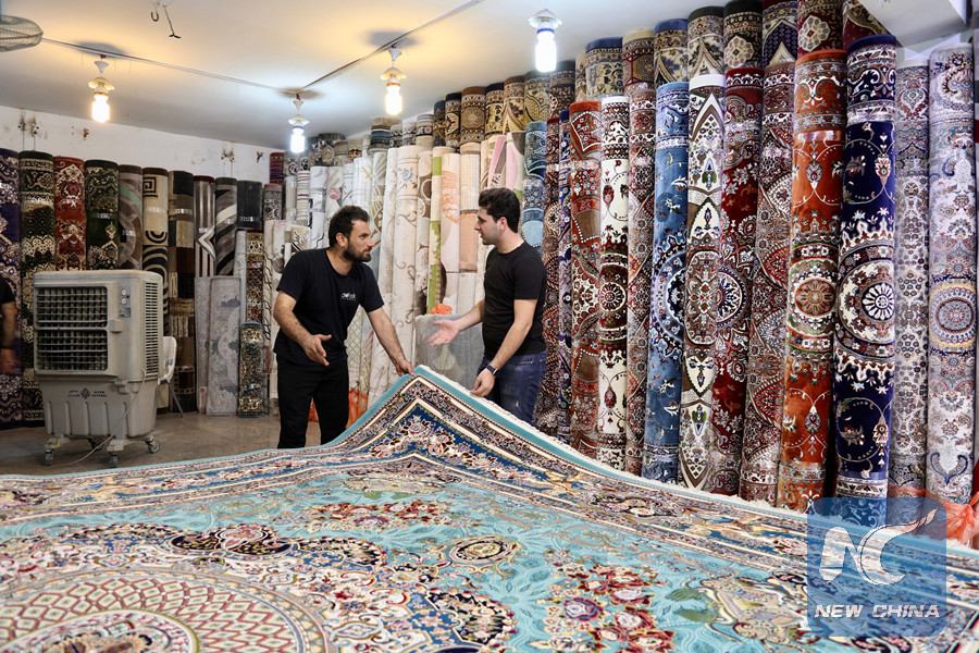 Feature: Carpet markets flourish as winter comes in Iraq CcrbeeE005014_20181029_CRMFN0A001_11n