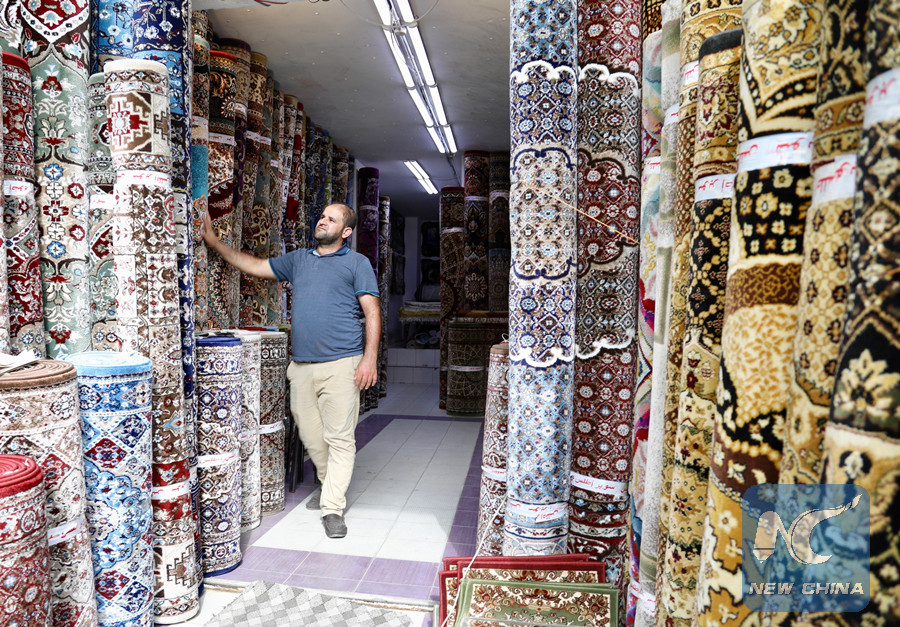 Feature: Carpet markets flourish as winter comes in Iraq CcrbeeE005014_20181029_CRMFN0A002_11n