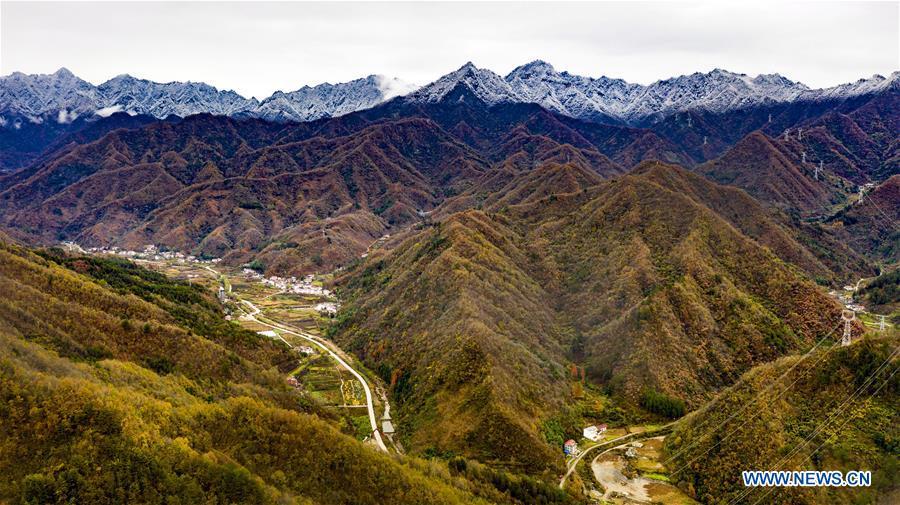 CHINA-SHAANXI-FOPING-SNOW SCENERY (CN)