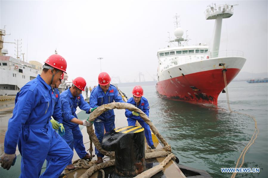 #CHINA-SHANDONG-SCIENCE-RESEARCH-VESSEL-RETURN (CN)