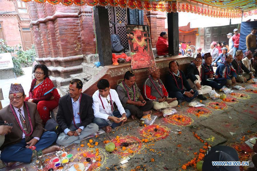 NEPAL-KATHMANDU-TIHAR FESTIVAL-BHAI TIKA