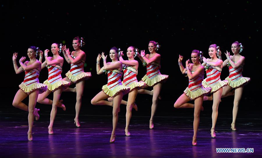 The Rockettes perform during 2018 production of Christmas ...