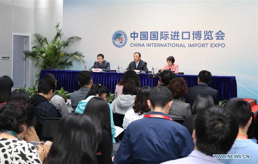 (IMPORT EXPO) CHINA-SHANGHAI-CIIE-CONCLUSION-NEWS CONFERENCE (CN)