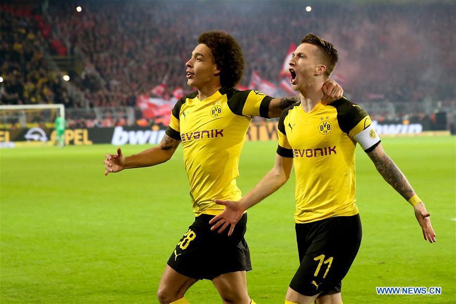 Spgermany Dortmund Soccer Bundesliga Dortmund Vs Munich
