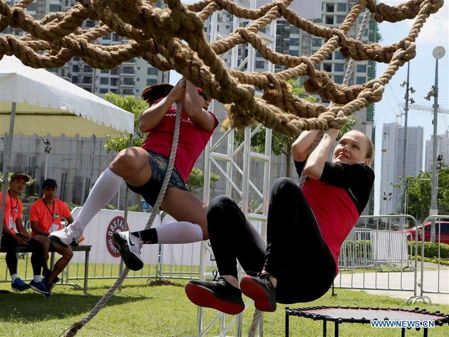 (SP)PHILIPPINES-MAKATI CITY-NINJA OBSTACLE COURSE RACE SERIES