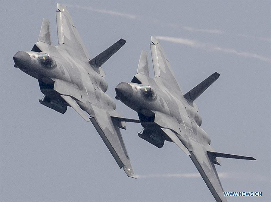 #CHINA-GUANGDONG-ZHUHAI-AIRSHOW-PLA-AIR FORCE (CN*)